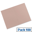 Guildhall Manilla Square Cut Folders Foolscap Buff FS315 Pack 100