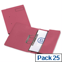 Elba Probate Transfer File Manilla 315gsm Foolscap Red 100092093 Pack 25