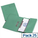 Elba Probate Transfer File Manilla 315gsm Foolscap Green 100092094 Pack 25