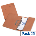 Elba Probate Transfer File Manilla 315gsm Foolscap Orange 100092098 Pack 25
