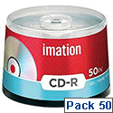 Imation CD-R Disc Spindle 52x Speed 80Min 700Mb 05189 Pack 50