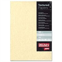 DECAdry A4 Champagne Parchment Letterhead Certificate Paper 95gsm 100 Sheets