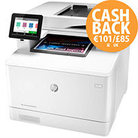 HP Color LaserJet Pro MFP M479dw - Multifunction printer - colour - laser - Legal (216 x 356 mm) (original) - A4/Legal (media) - up to 27 ppm (copying) - up to 27 ppm (printing) - 300 sheets - USB 2.0, LAN, Wi-Fi(n), USB host