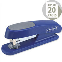 Rapesco R7 Stingray Stapler Half Strip Blue