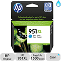 HP 951XL Cyan Inkjet Cartridge High Capacity CN046AE-BGX