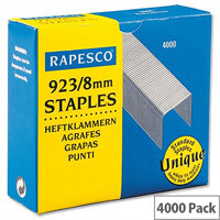 Rapesco 923/8mm Heavy Duty Staples 92308Z3 - Box 4000
