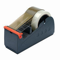 Tape Dispenser Bench Metal Heavy Duty Multicore with Guides 75mm Ref 74SL7336