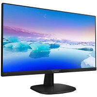 "Philips V-line LED Monitor - 24"" (23.8"" Viewable) 1920 x 1080 Full HD (1080p) - IPS 250 cd/m2 - 1000:1 4ms - HDMI, VGA, DisplayPort - 243V7QJABF"