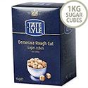 Tate and Lyle Demerara Sugar Cubes Rough-cut 1Kg Ref A03903 539753