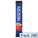 Nescafe Decaff Original Coffee Sachet Sticks A01726 Pack 200