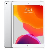 "Apple iPad 10.2-inch 7th Generation Tablet - Wi-Fi - Storage 128 GB - Display: 10.2"" IPS (2160 x 1620) - MW782B/A - Colour: White/Silver"