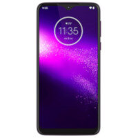 "Motorola One Macro - Smartphone - dual-SIM - 4G LTE - 64 GB - GSM - 6.2"" - 1520 x 720 pixels (270 ppi) - RAM 4 GB (8 MP front camera) - 3x rear cameras - Android - ultra violet"