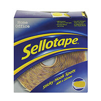 Sellotape Sticky Hook Spots 400 Units Diameter 22mm