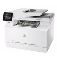 HP Color LaserJet Pro MFP M283fdn - A4 Multifunction Printer - Print, Copy, Scan, Fax - 216x297mm, A4, 250 sheets, USB 2.0, Gigabit LAN - Automatic Duplex