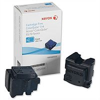 Xerox Ink Sticks Solid Page Life 4400pp Cyan Ref 108R00931 [Pack 2]