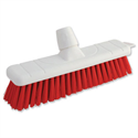 Red Soft Bristle Indoor Brush 12 Inch Head Bentley
