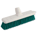 Green Soft Bristle Indoor Brush 12 Inch Head Bentley