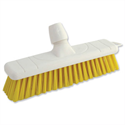 Yellow Soft Bristle Indoor Brush 12 Inch Head Bentley