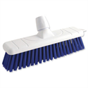 Blue Stiff Bristle Outdoor Broom 12 Inch Head Bentley