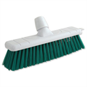 Green Stiff Bristle Outdoor Broom 12 Inch Head Bentley