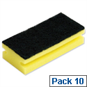 Sponge Scourer Pads Pack 10 Bentley SPCSC0310