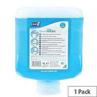DEB Azure Foaming Hand Soap Refill Cartridge 1 Litre (Pack 1) AZU1L