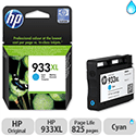 HP 933XL Cyan Inkjet Cartridge High Capacity CN054AE