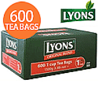 Lyons Original Blend 600 1 Cup Tea Bags Catering Pack Ref 1Z141