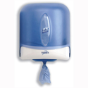 Reflex Jumbo Wiper Dispenser Centrefeed Plastic W252xD322xH252mm Smoked Blue E02237