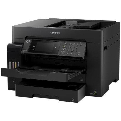 Epson EcoTank ET-16600 - A3 InkJet Multifunction Colour Printer - Print, Copy, Scan, Fax - USB, LAN, Wi-Fi - Automatic Duplex, Touchscreen - Grey