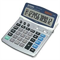 Aurora Desktop Calculator Euro Battery/Solar-power DT401