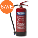 Dry Powder Fire Extinguisher for Class ABC 6kg Refillable Guardian