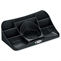 Rexel Agenda2 Desk Tidy Charcoal W286xD153xH92mm
