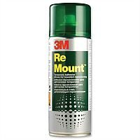 3M Re Mount Adhesive Spray Can  Repositionable 400ml