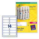 Avery L7063-20 Heavy Duty Labels Laser 99.1x38.1mm 280 Labels