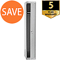 Bisley 1 Door Steel Locker Goose Grey CLK121-73