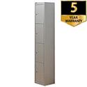 Bisley 4 Door Locker Steel Goose Grey CLK124-73