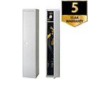 Bisley Deep Steel Locker 1 Door Goose Grey