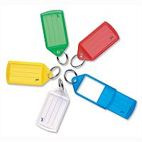 Helix Assorted Sliding Key Fobs Large Assorted Pack of 50