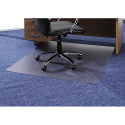 Chair Mat Rectangular for Carpet Protection 1200x1340mm Cleartex Ultimat