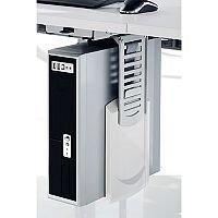 Snug White & Silver CPU Holder 58A122