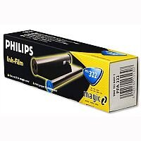 Philips PFA322 Fax Ribbon Black for PPF441 456 476 486