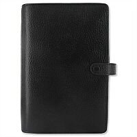 Filofax Finsbury Personal Organiser for Paper 95x171mm Personal Black Ref 025302