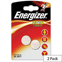 Energizer CR2016 Button Cell Coin Batteries 3V Lithium Pack 2