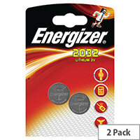 Energizer CR2032 Button Cell Coin Batteries Lithium 3V Battery Pack 2