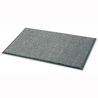 Dust Control Door Mat Polypropylene 900mmx1500mm Black and White Doortex