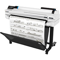 HP Designjet T530 Large Format Thermal Inkjet Printer - 2400 x 1200 dpi - A0,A1,A2,A3,A4 - Black,Cyan,Magenta,Yellow