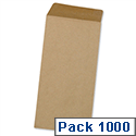 5 Star Envelopes DL Manilla Pocket  Gummed Pack 1000