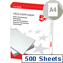 Value A4 Paper Multifunctional White 80gsm 500 Sheets 5 Star