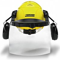 Karcher Safety Helmet with Earmuffs & Visor 31dB 6.025-512.0